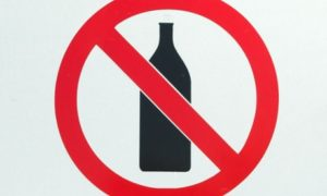 stop drinking alcohol to keep free from anxiety